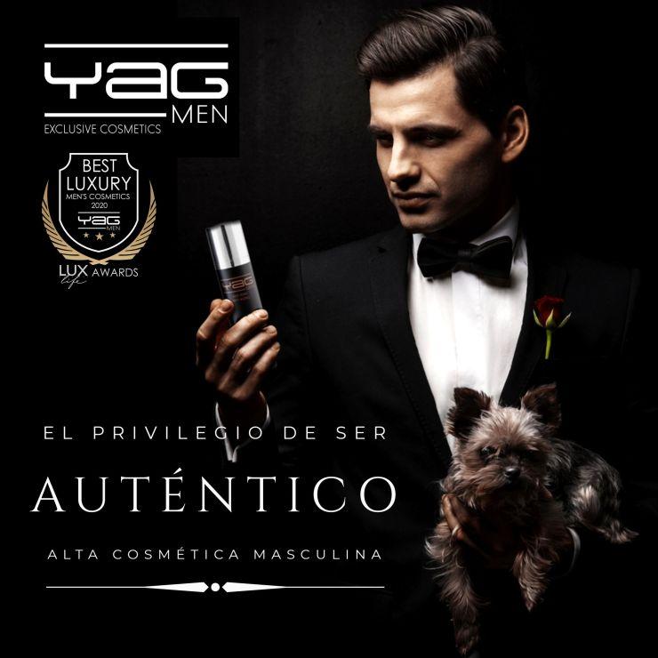 YAG MEN premiada como mejor cosmética masculina de lujo 2020