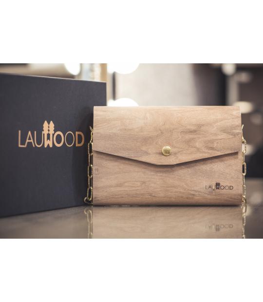 Lauwood, bolsos de madera diseñados y fabricados en España
