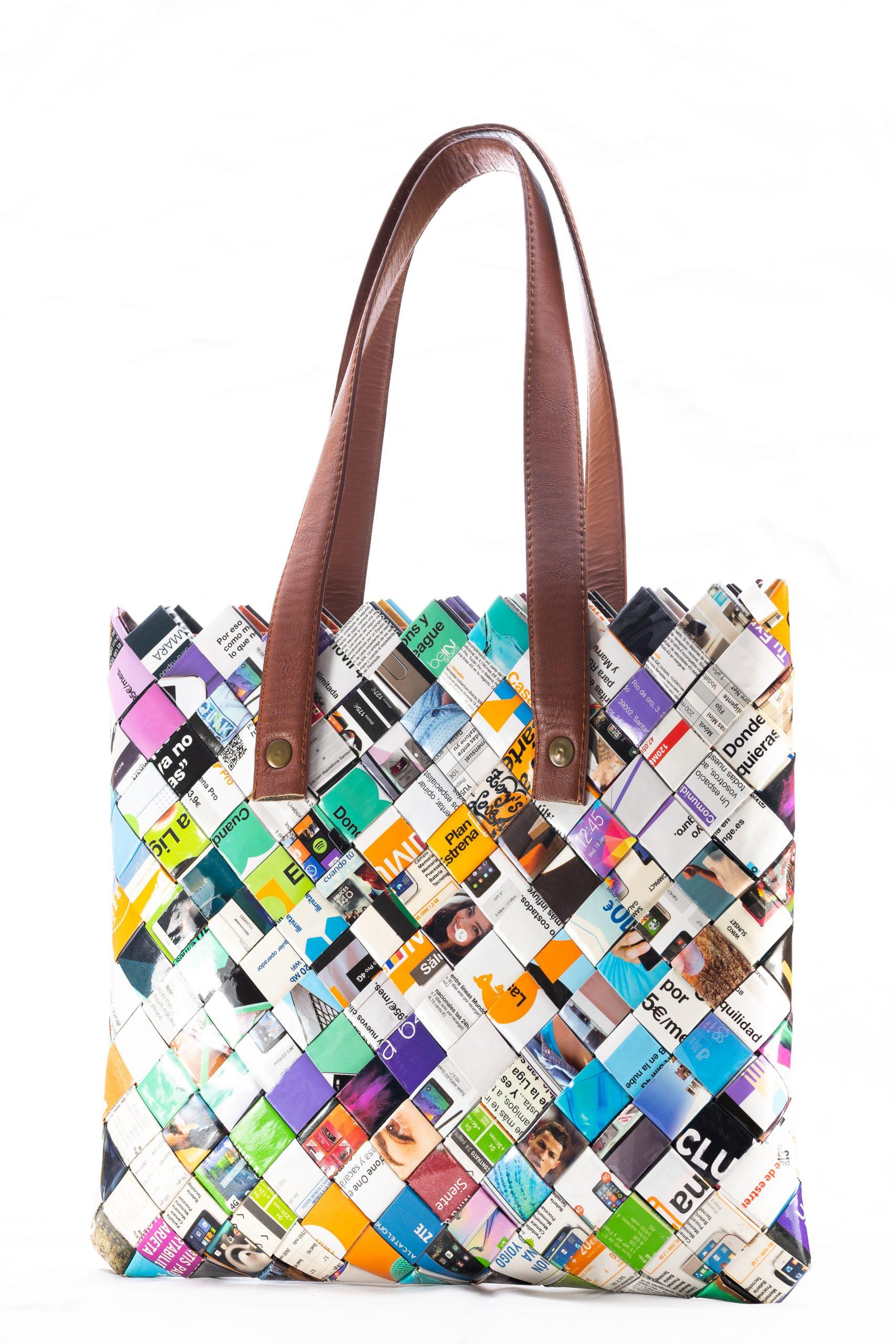 Zory'sLove, tu bolso personalizado relizado en papel reciclado