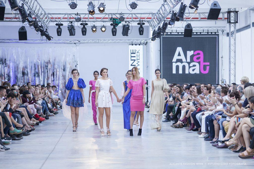 Aramat presenta su colección más personal