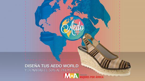 Colaboración entre Aedo y la Fundación Mujeres por África