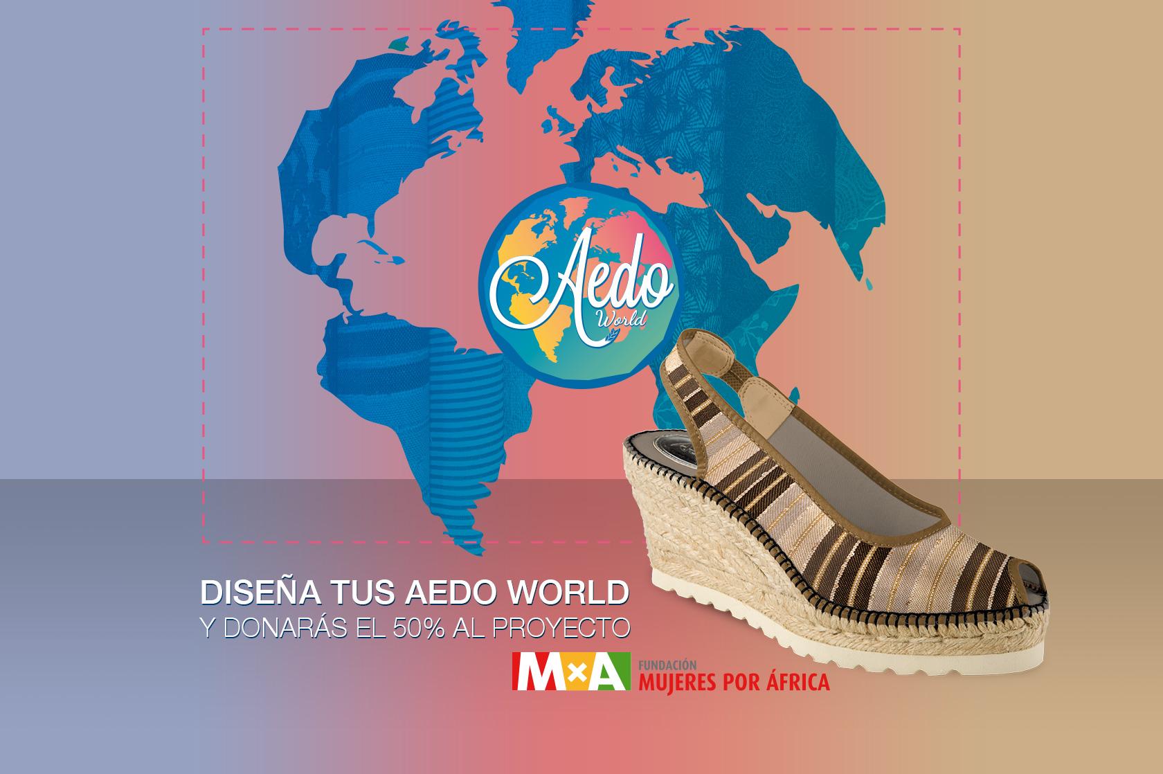 """Aedo Espadrilles y """"Aedo World"""", un proyecto en el que autenticidad, moda y compromiso van de la mano"""