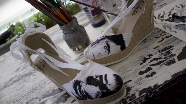 Aedo Espadrilles y Emilio Fornieles unen arte y tradición