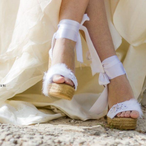 Cómo se crean las alpargatas para novia de Lisa López