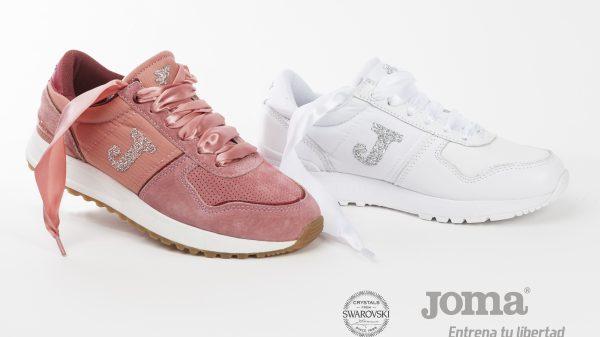 Cálzate las nuevas sneakers Joma Swarovski