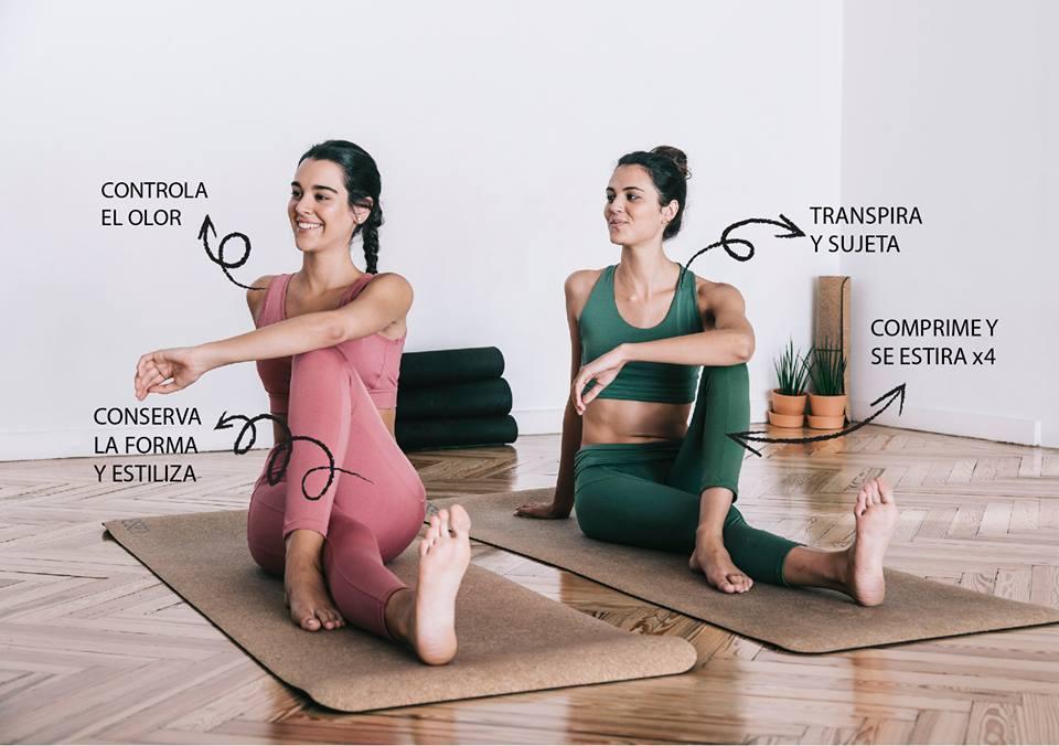 Primera marca española de moda athleisure con tecnología textil propia