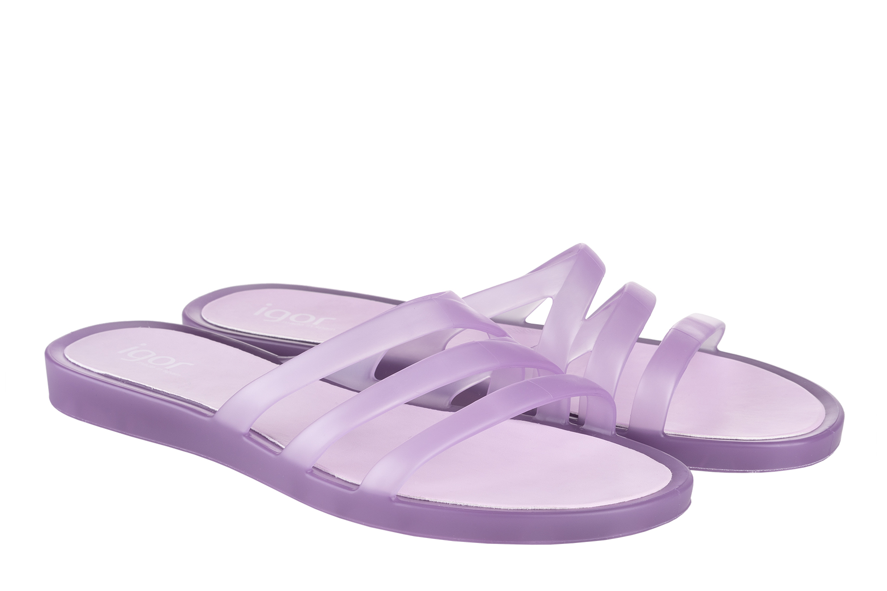 Transparencias para calzar nuestros pies este verano de la mano de Igor