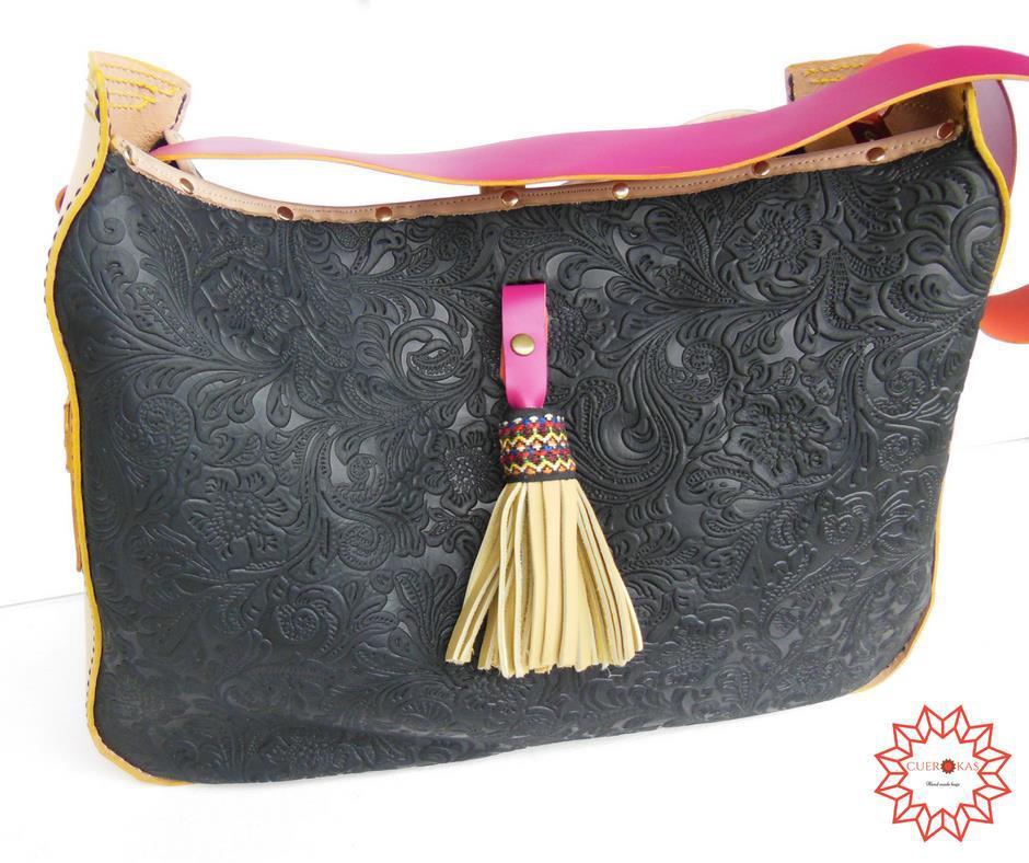 Bolsos de diseño artesano en piel hechos a mano