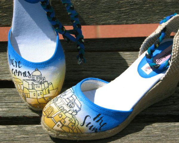 Calzado personalizado y original para todos con Mantonquiqui