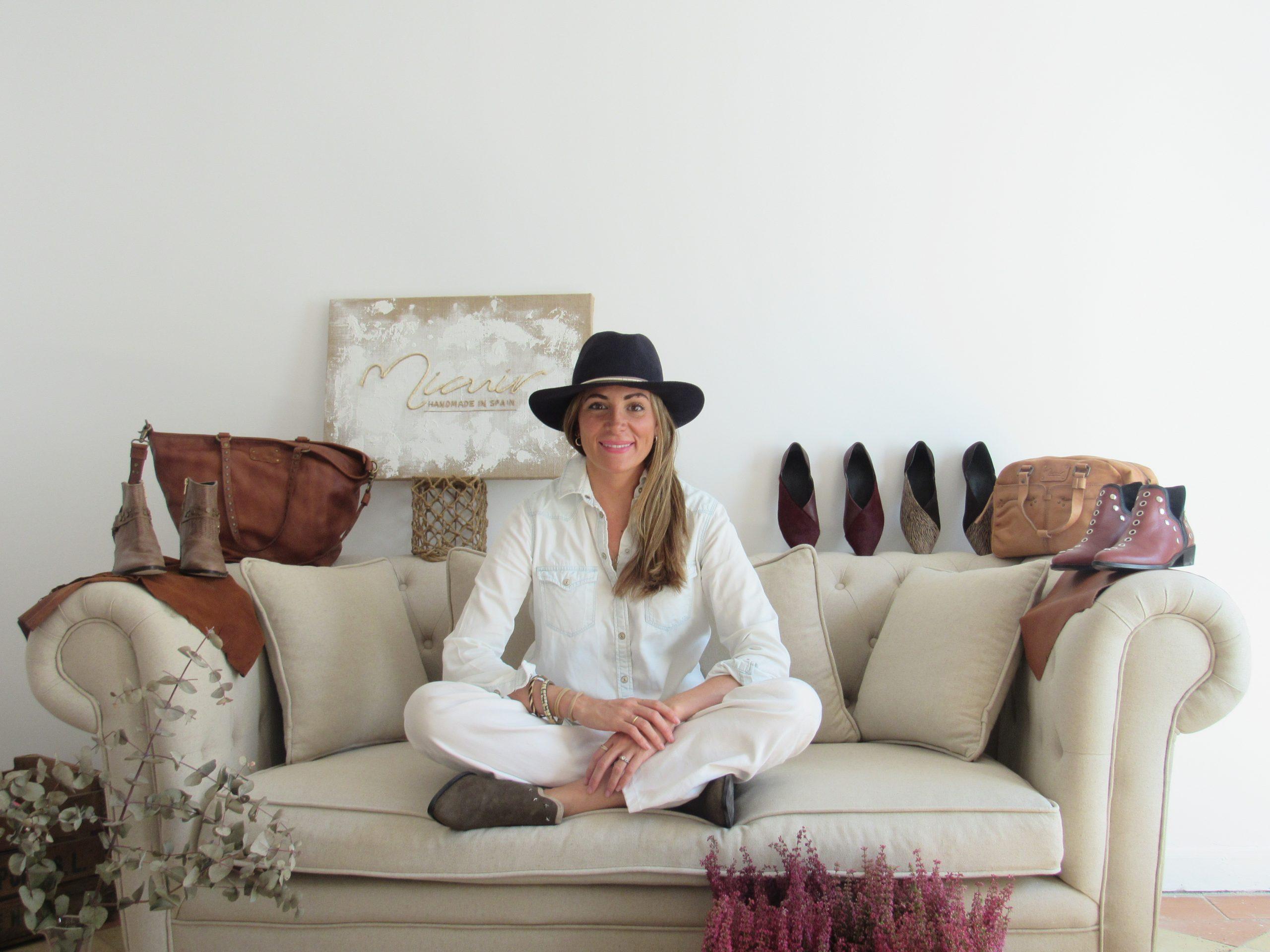 Elena Peña, Directora Creativa de la marca española de calzado Micuir