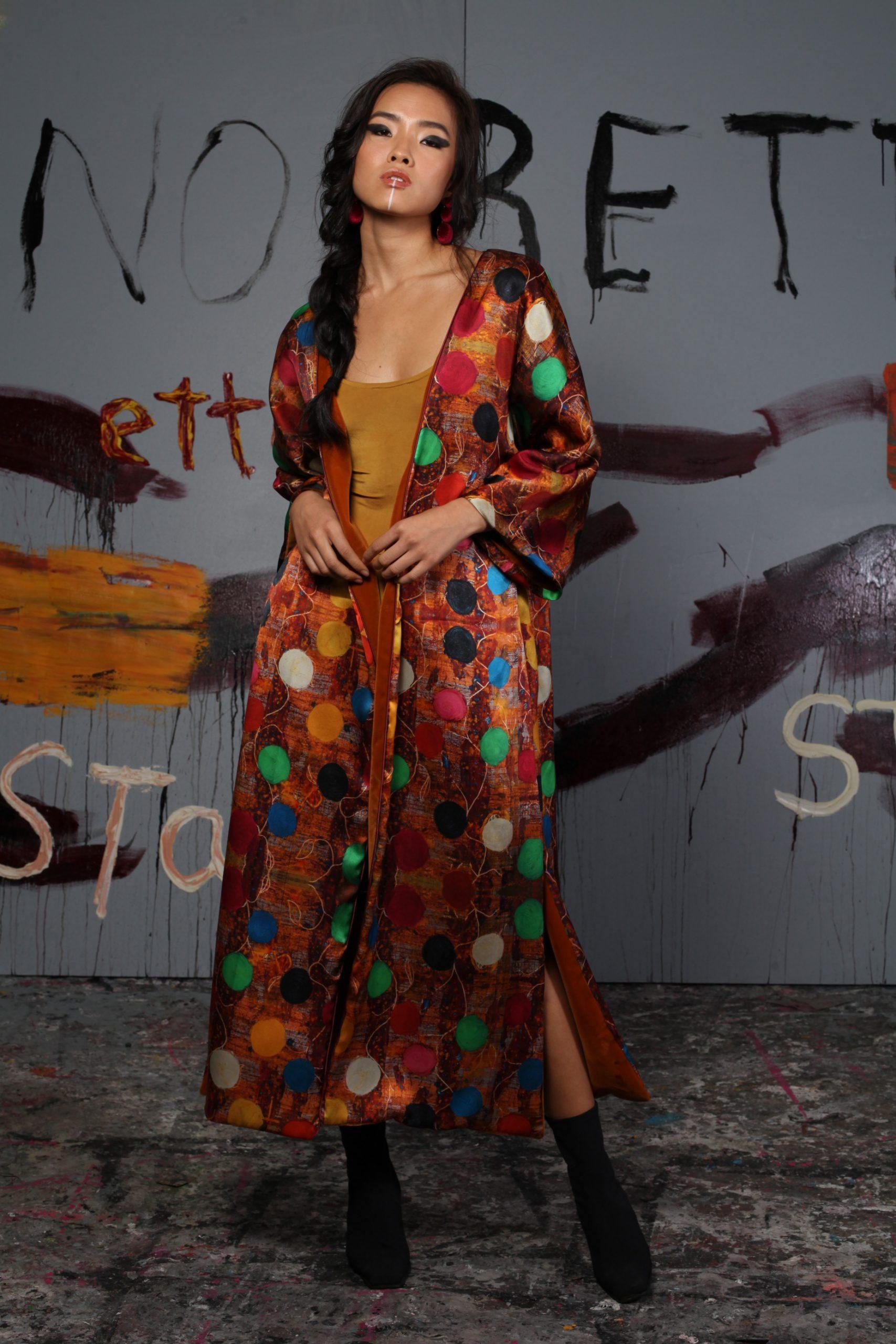 El arte se transforma en kimono de la mano de Arena Martínez