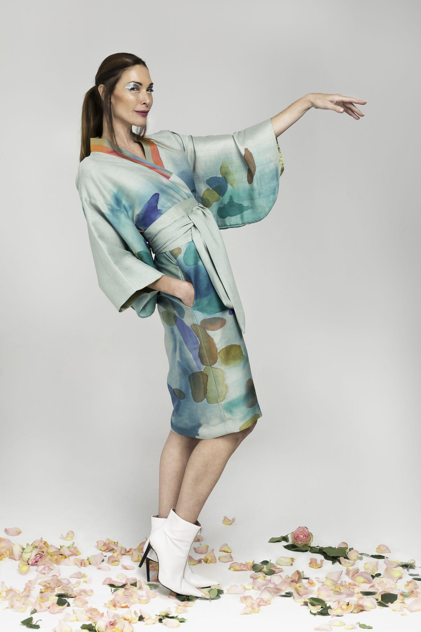 Los eco kimonos Avasan reflejan la delicada búsqueda de la armonía