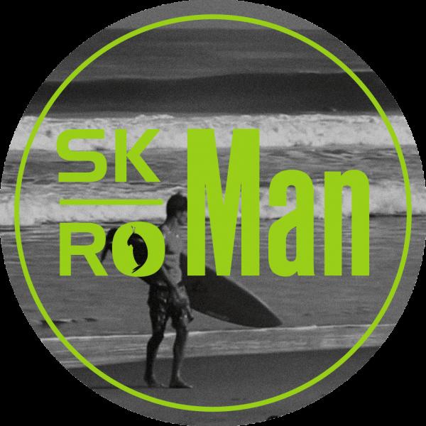 Si eres amante de las camisetas y del surf, descubre skroman