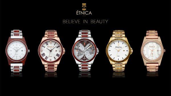 Étnica, relojes diseñados desde cero en España