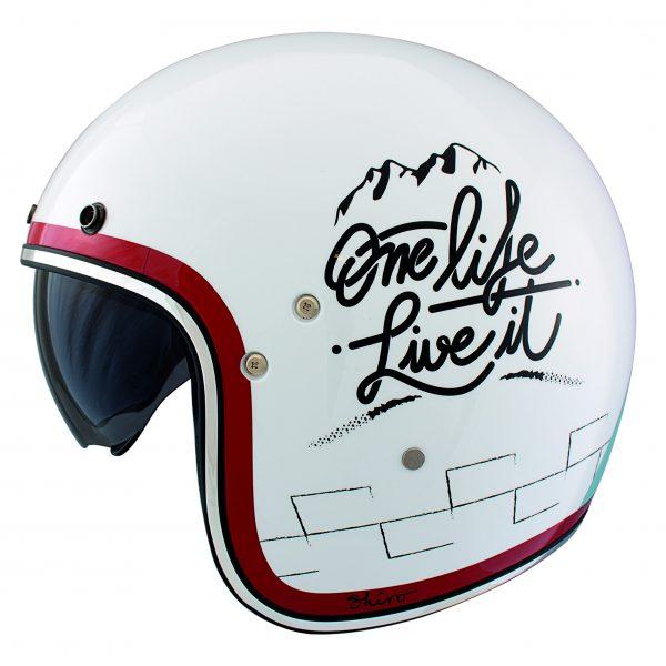 Diseño y calidad para ir en moto por la ciudad