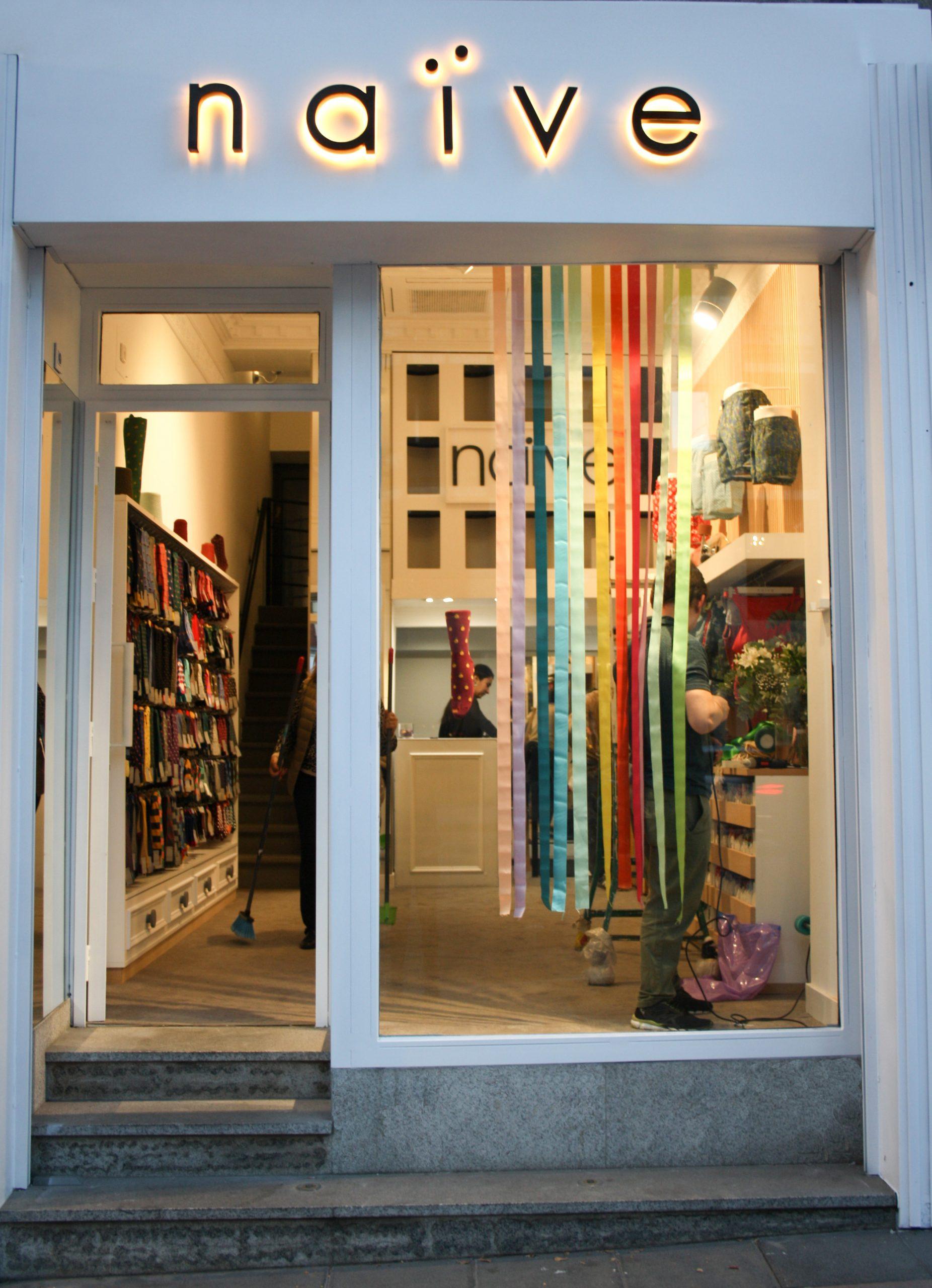 Naïve abre su octava tienda en Madrid
