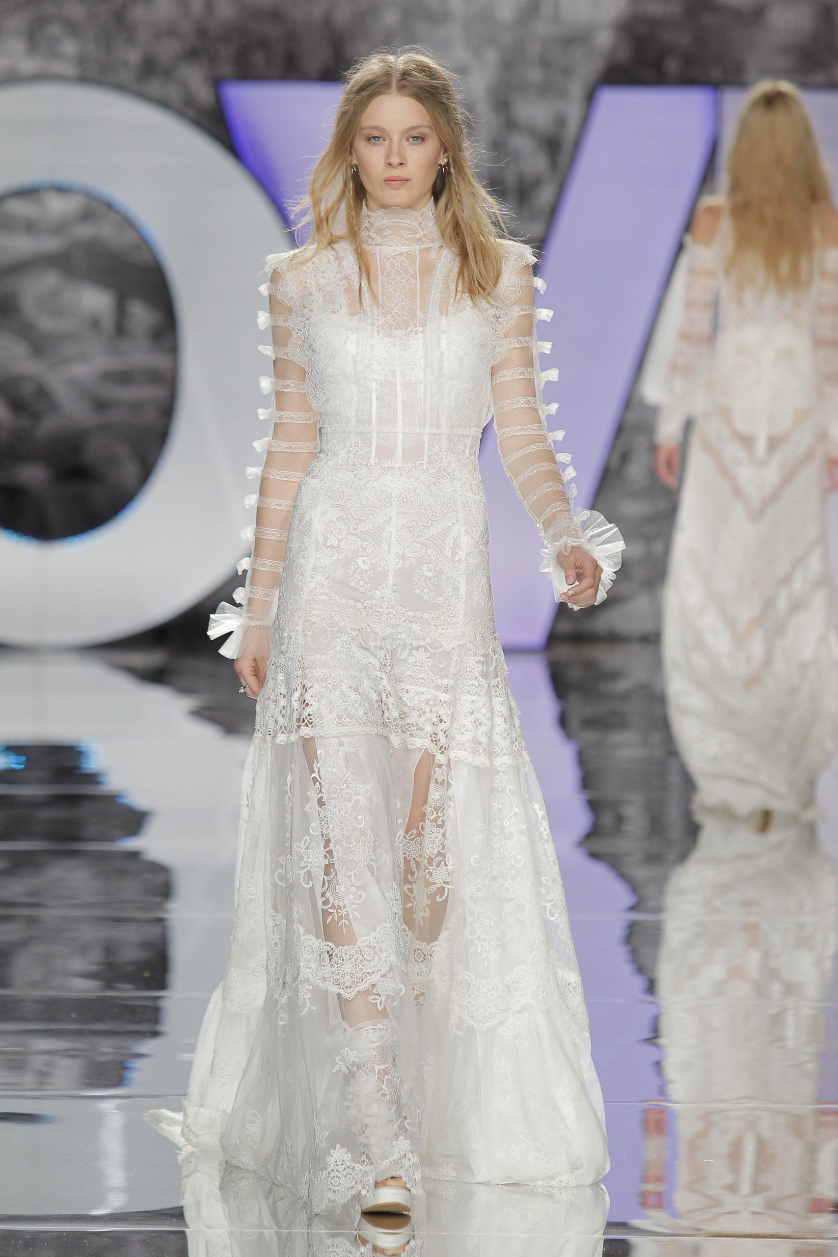 Yolan Cris viste a las novias con diseños innovadores