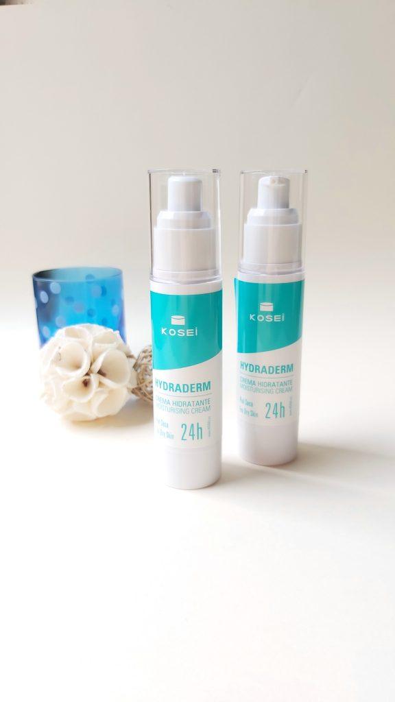 Hydraderm de Kosei, la hidratante facial 24 horas