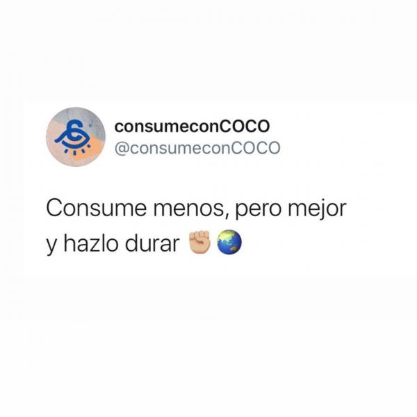 Cita de Consumo con coco