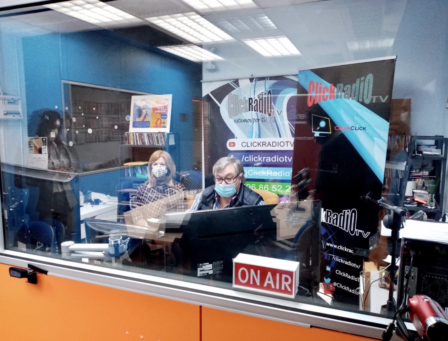 """Programa """"Hecho en España"""" de Click Radio TV - Foto: Miguel Ángel Mateos"""