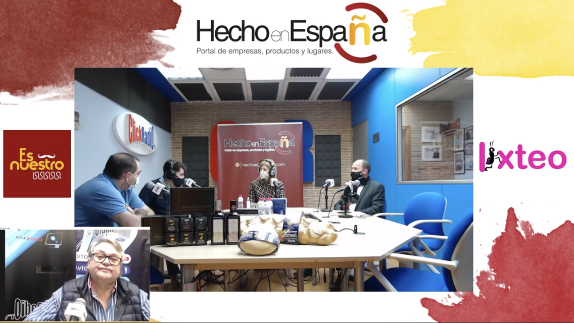 "Programa ""Hecho en España"" de Click Radio TV"