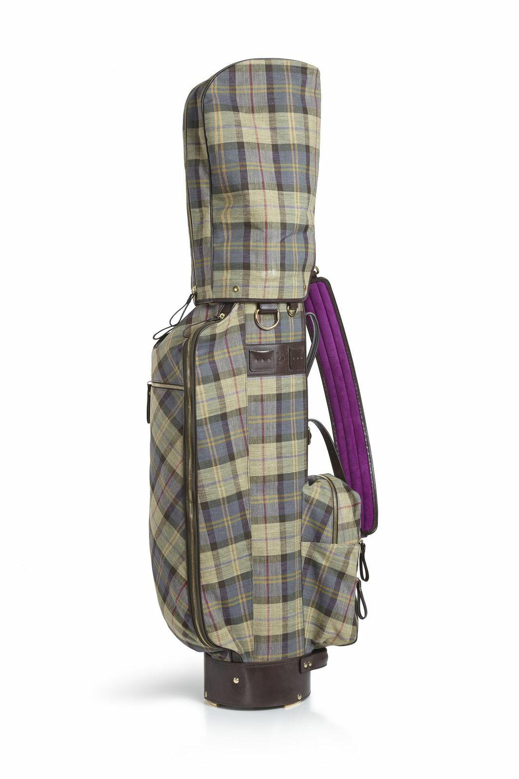 En Real Leather Studio fabrican bolsas de golf