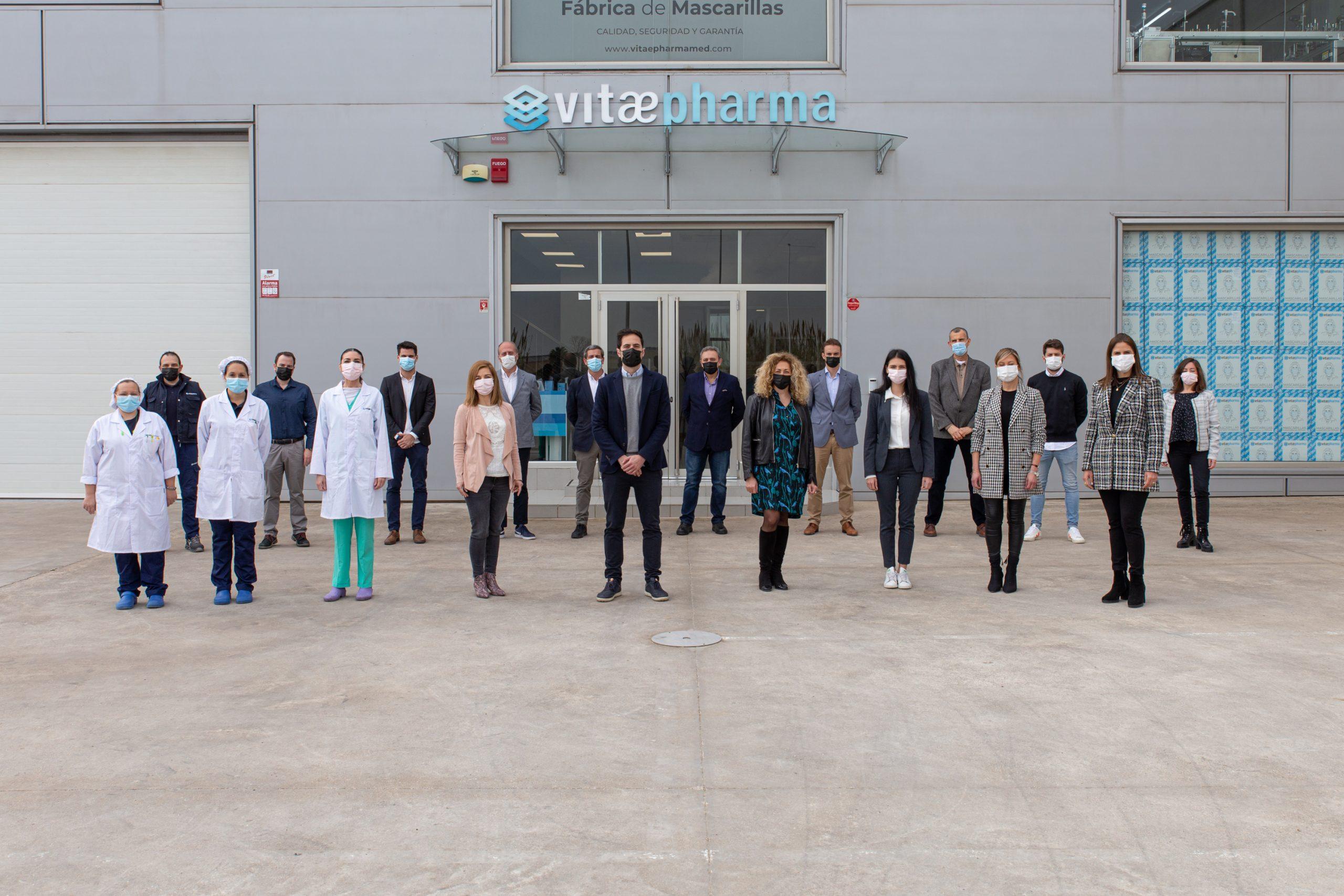 Vitae Pharma Medical fabrica mascarillas hechas en España