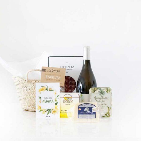 Una cesta gourmet para el Día de la Madre