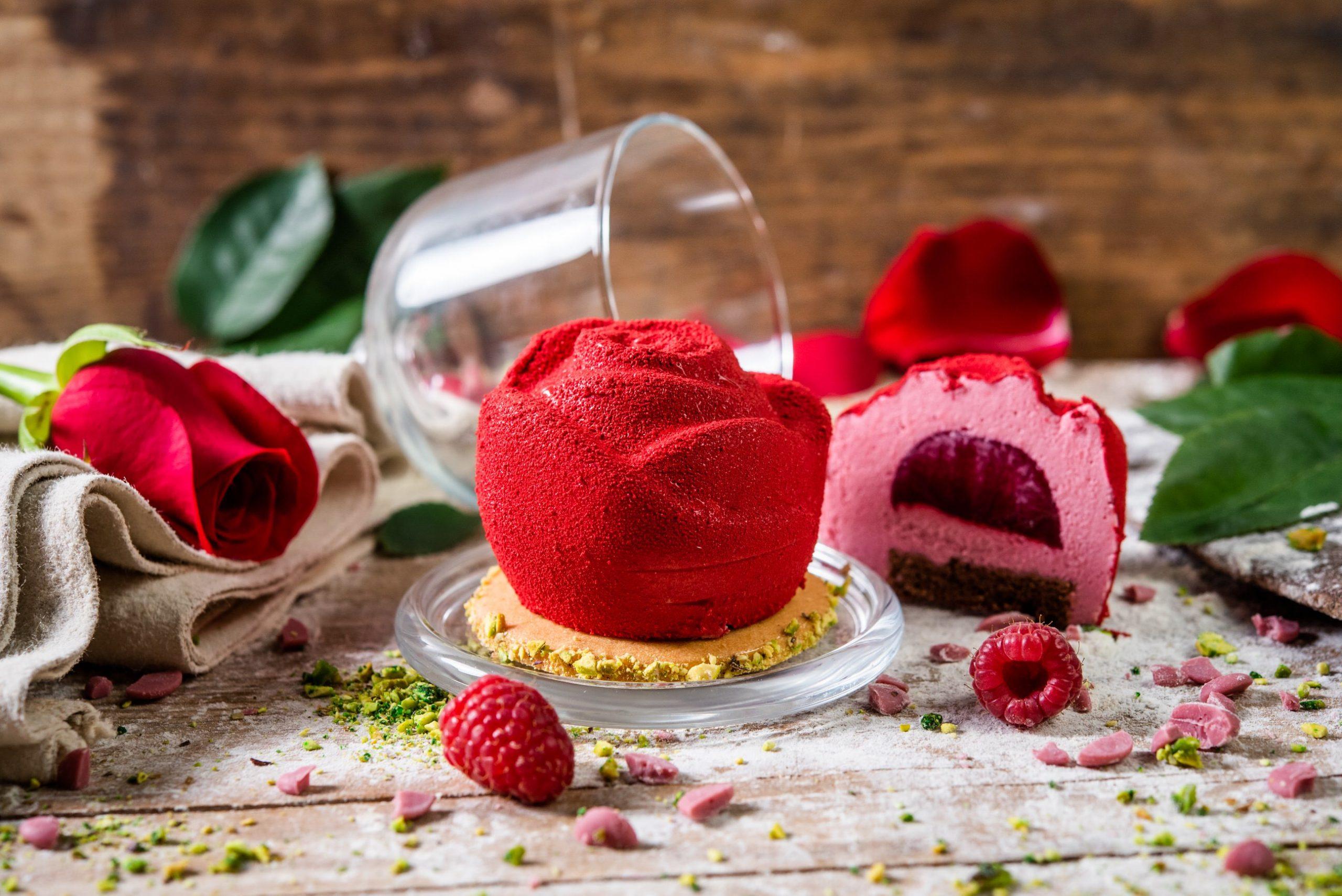 Tartaleta de chocolate ruby de Levaduramadre - Especial Día de la Madre