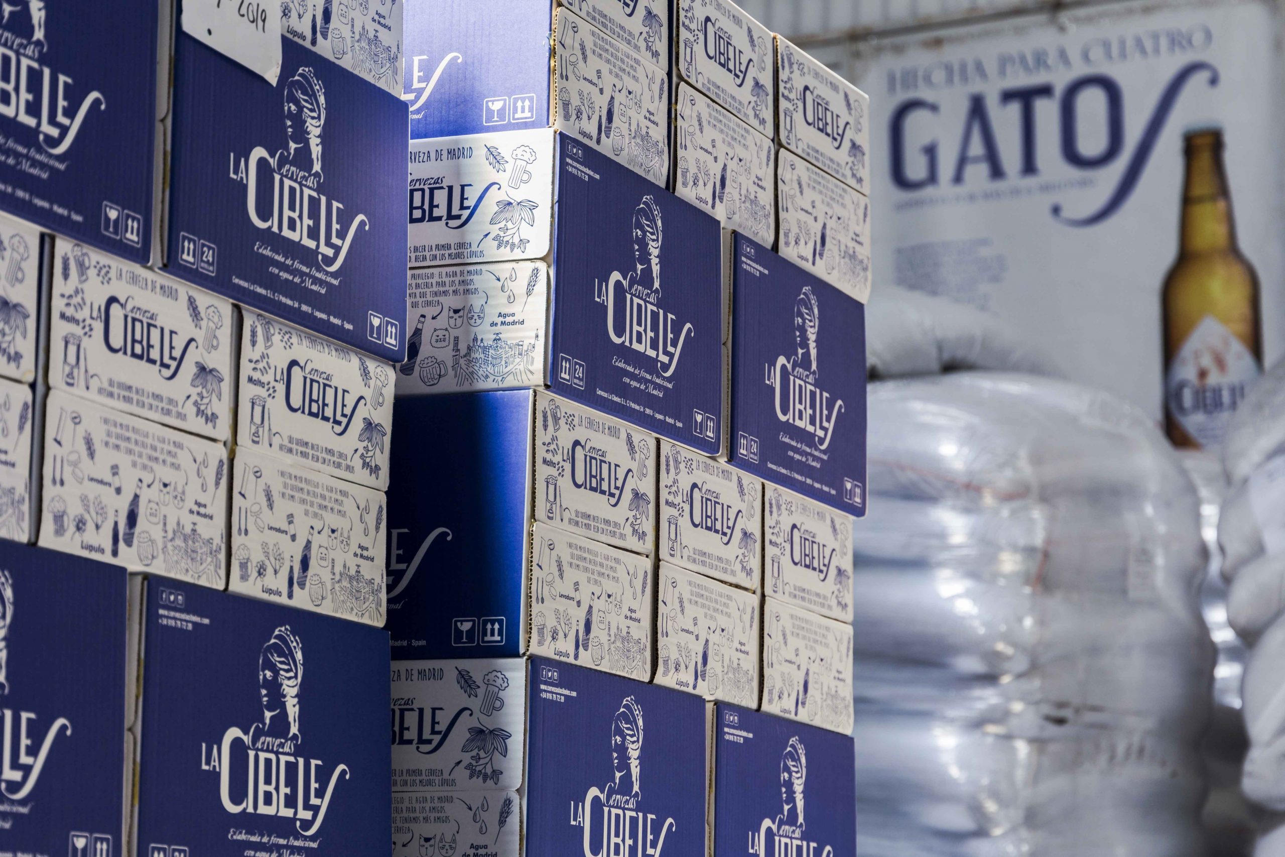 La Cibeles, cerveza hecha con agua de Madrid