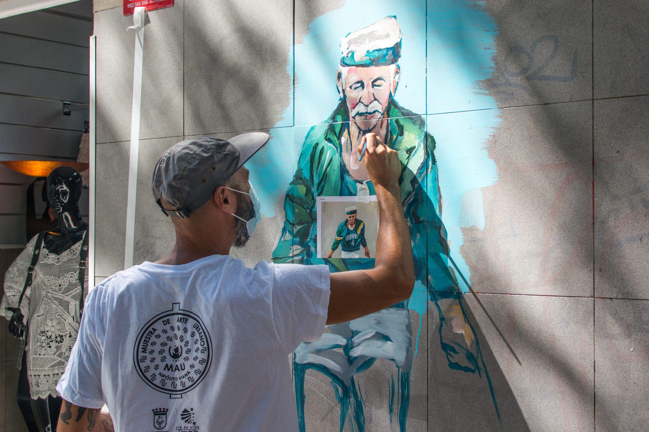Alvaro Oskua CALLE - Guillermo de la Madrid - Madrid Street Art Project
