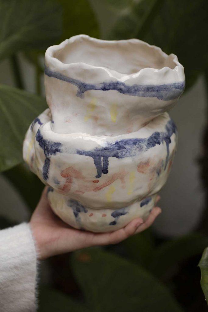 annuccia conecta con la persona a través de la cerámica - Foto Ana Wedfry