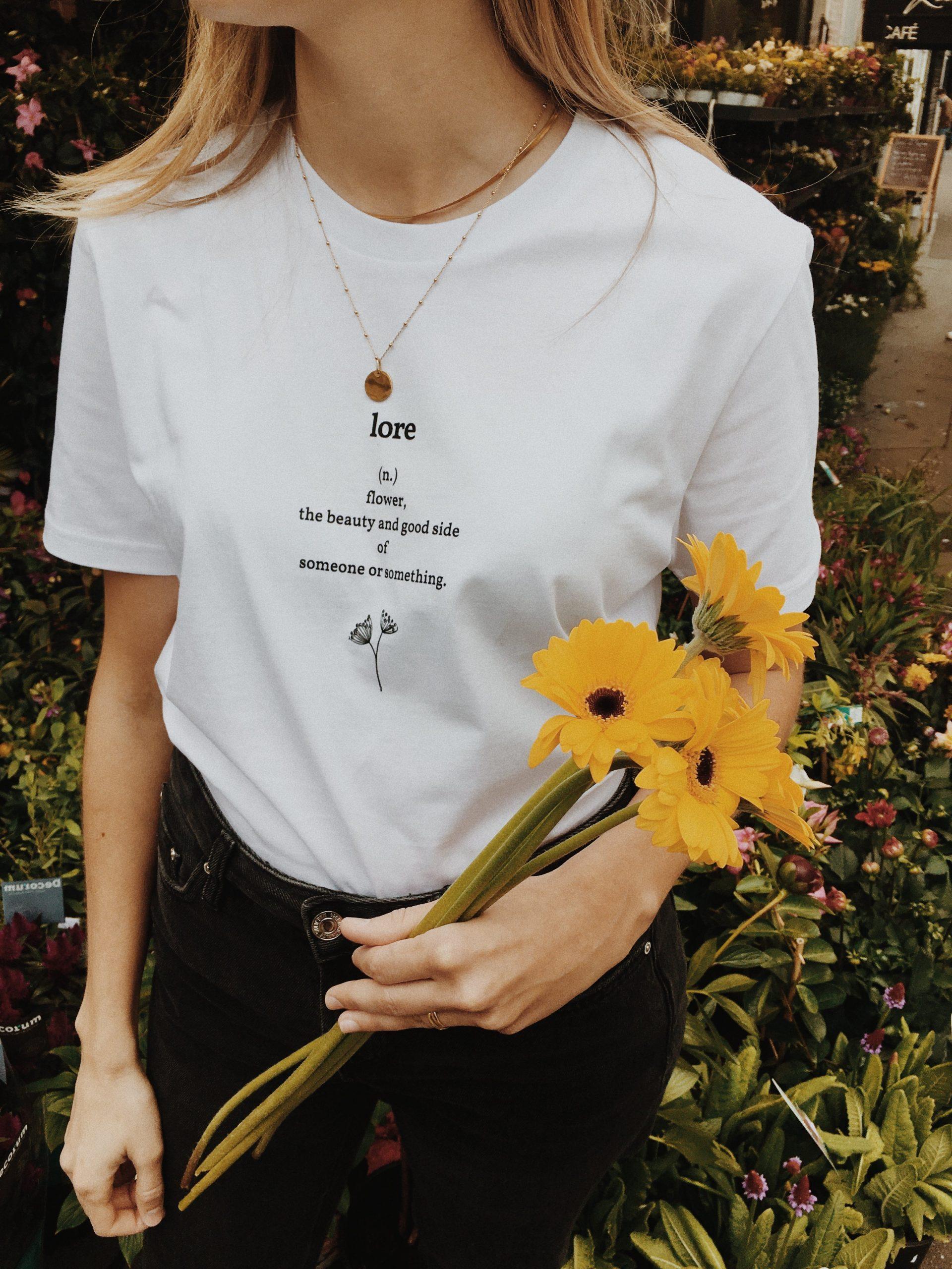 Bihotz Paris, camisetas que juegan con el euskera y la poesía
