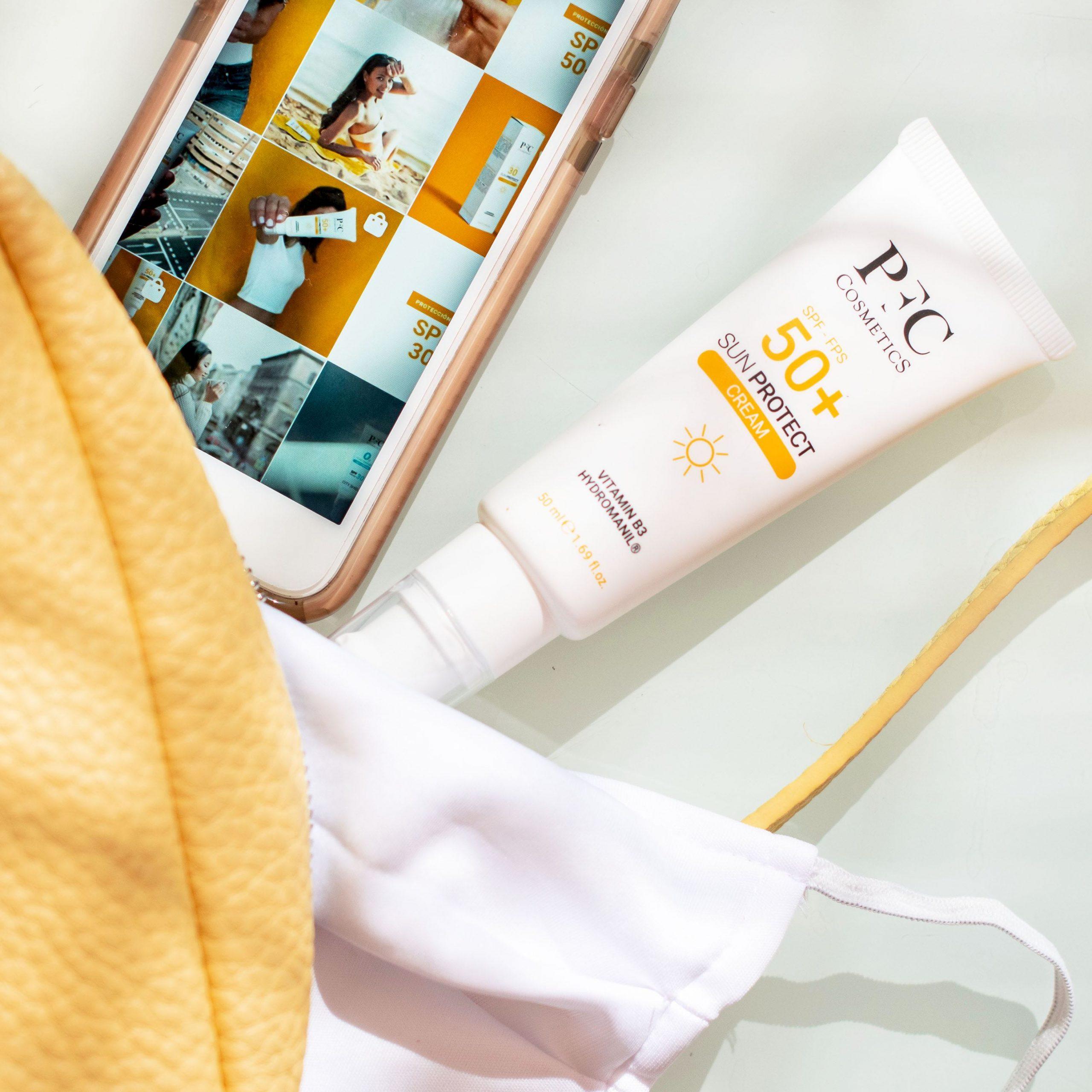 Línea solar de PFC Cosmetics