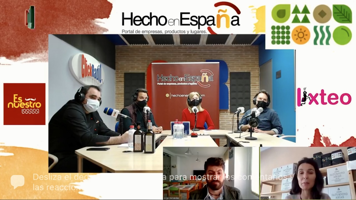 "Programa ""Hecho en España"" Click Radio TV 12 de abril"