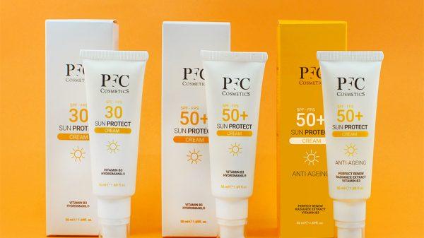 Línea Solar 2021 de PFC Cosmetics