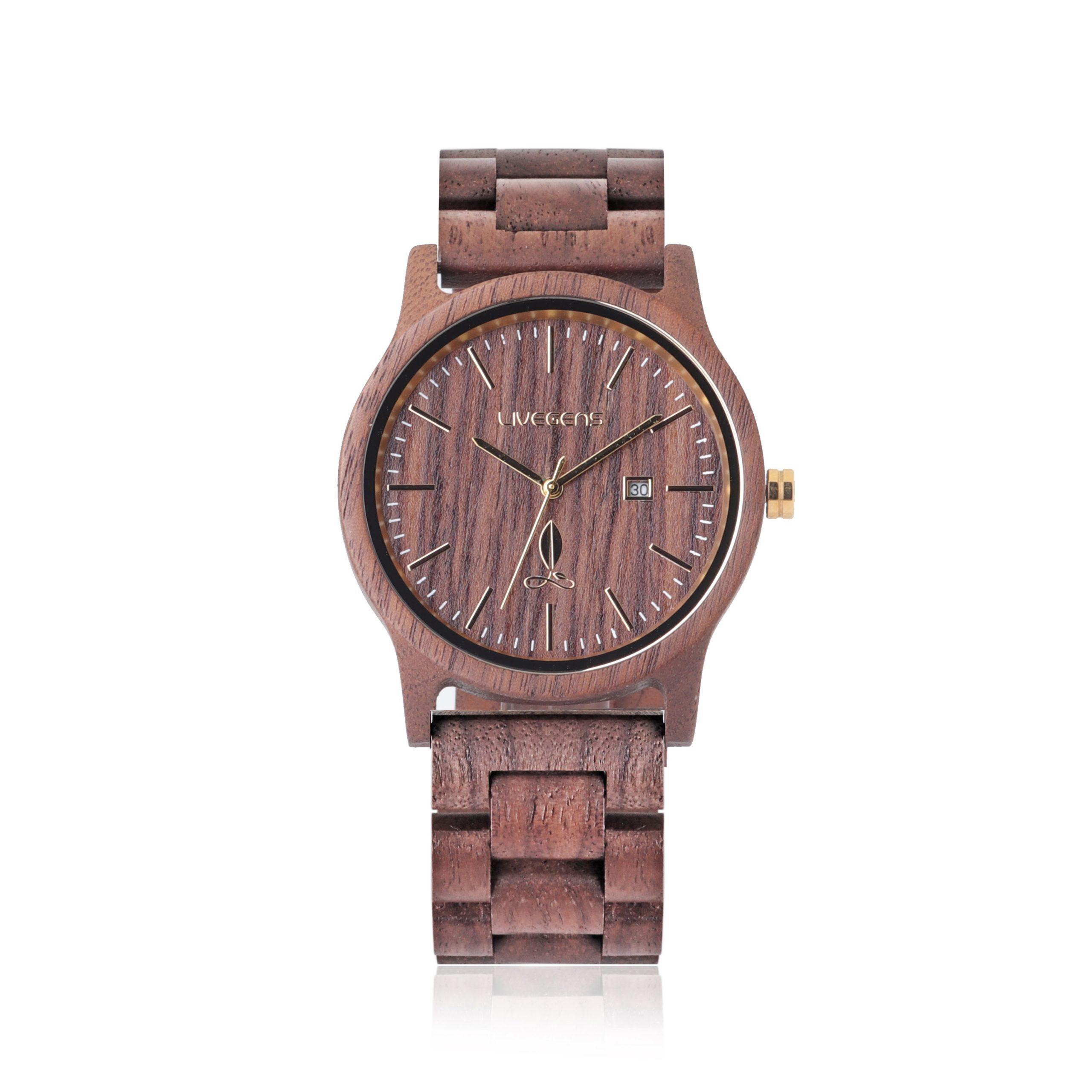 Livegens, relojes de madera hechos en España