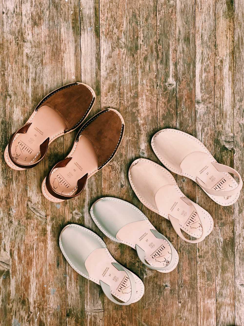 Las menorquinas son el calzado del verano