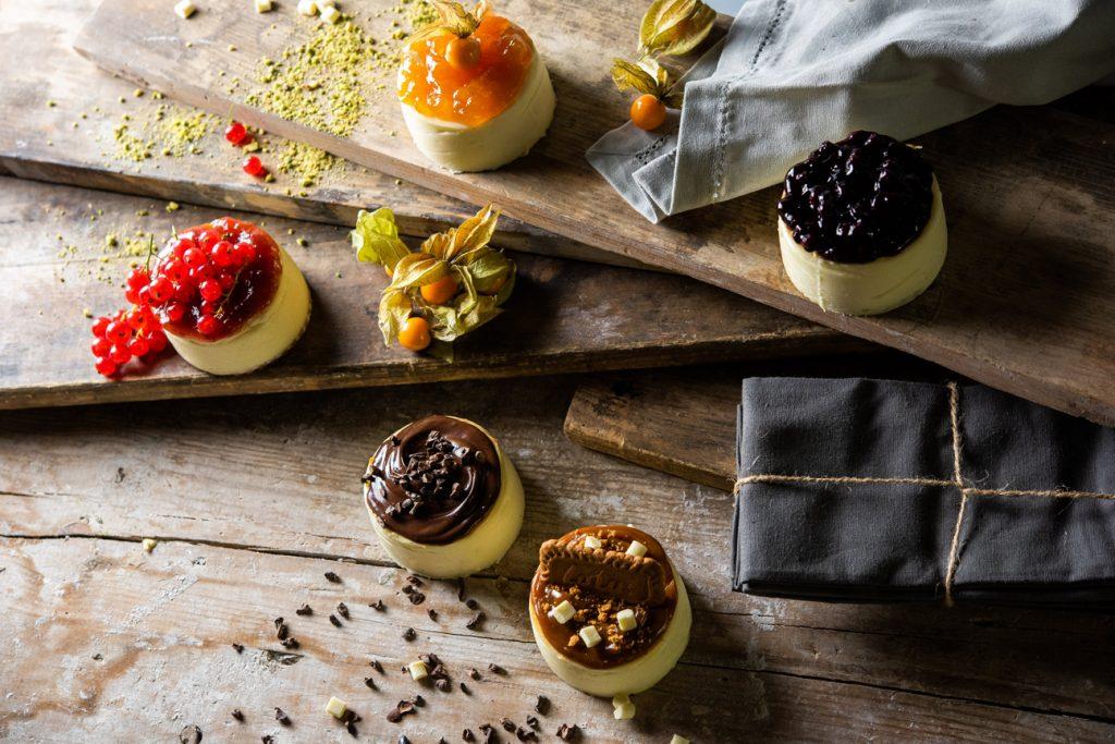 Tartaleta de cheesecake de Levaduramadre