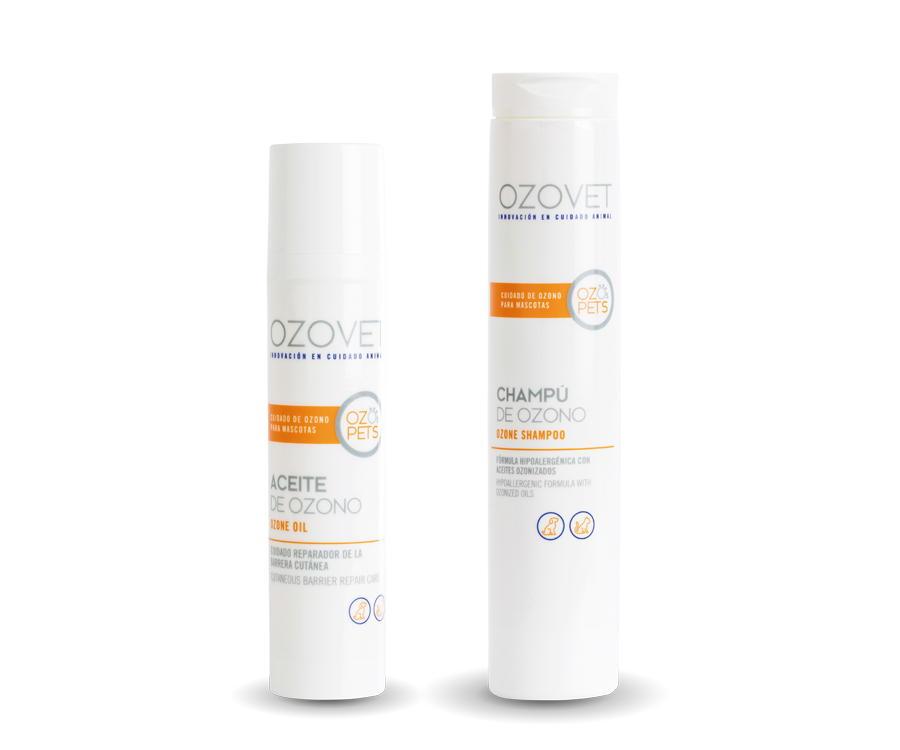 Aceite y champú OzoPets