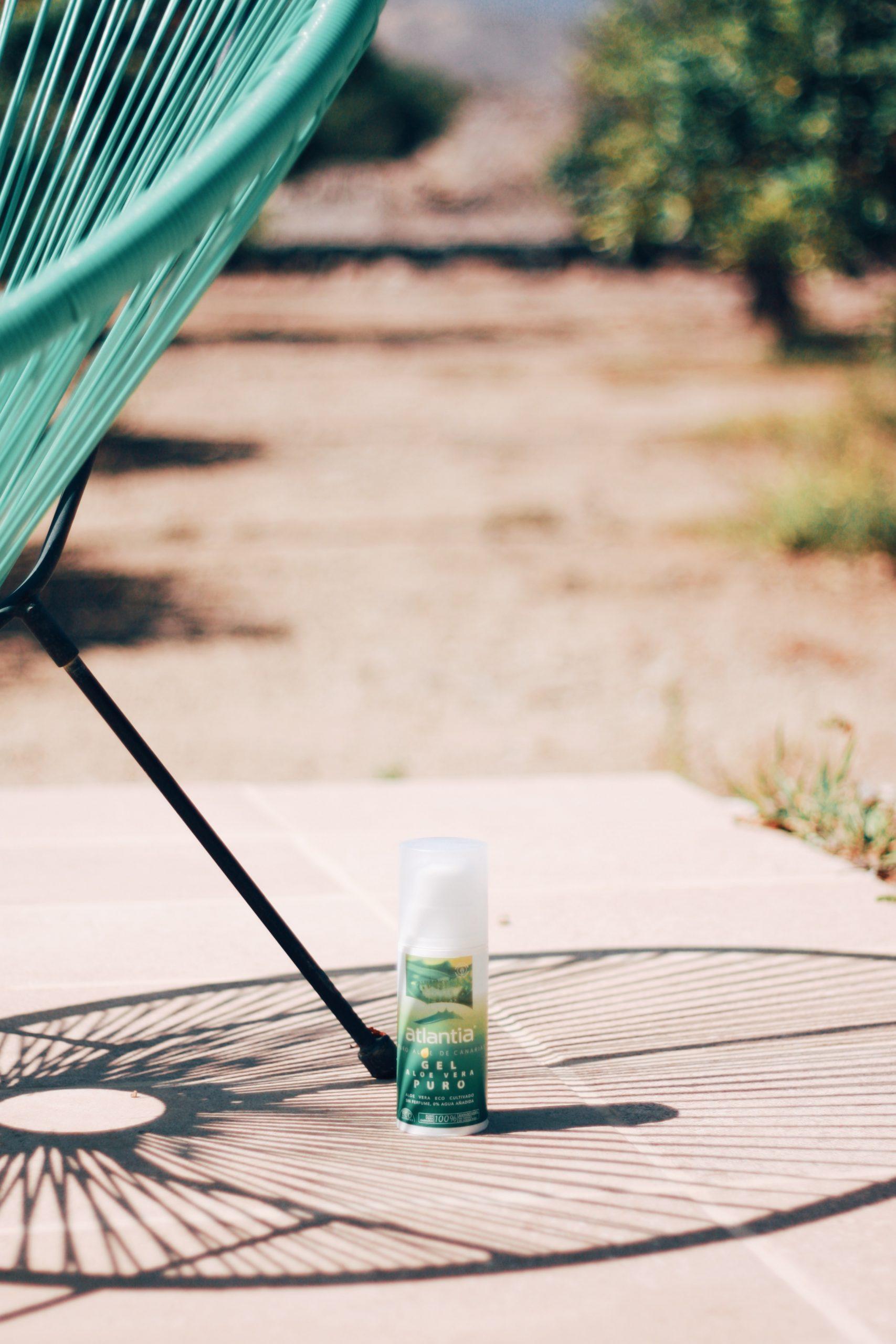 Gel puro y after sun calman, refrescan y regeneran la piel