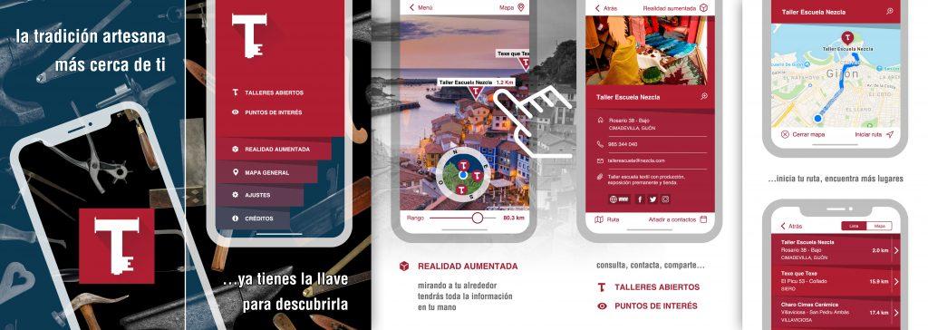 """""""Talleres Abiertos"""", app para descubrir nuestra artesanía"""