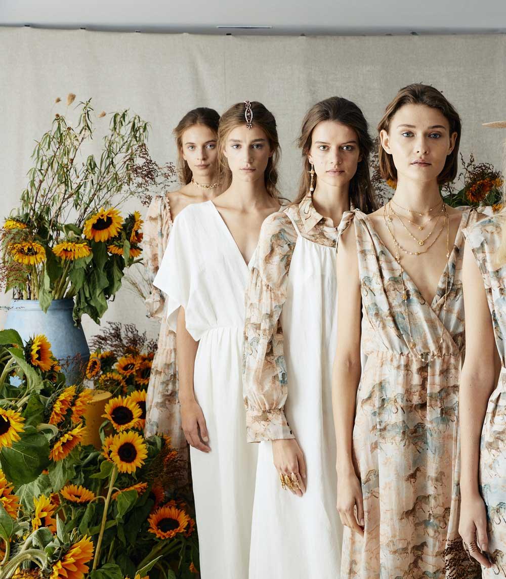 Ailanto y Suma Cruz presentan su colección Sunflowers