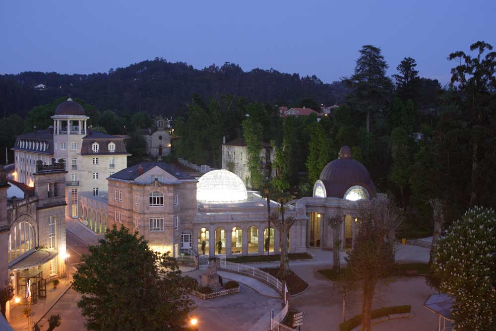 Balneario de Mondariz, un destino termal histórico para otoño