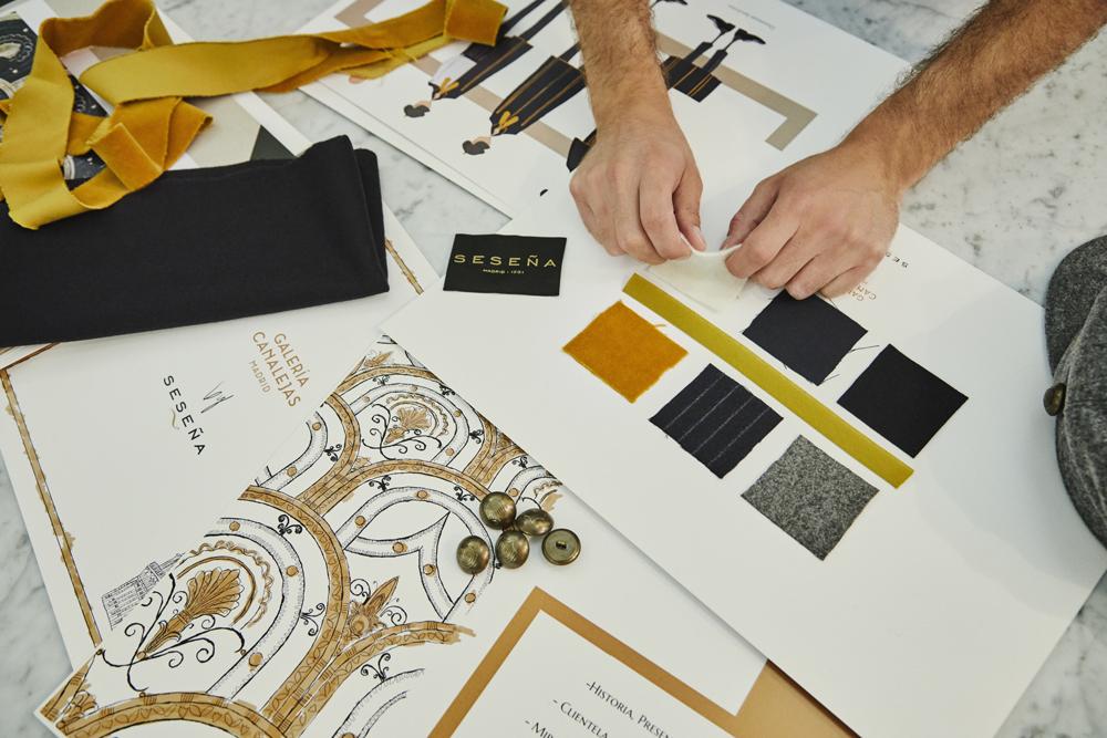 Galería Canalejas y sus uniformes creados por Seseña