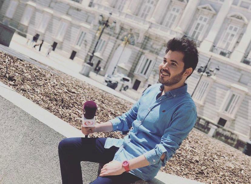 """Rubén Lagarejo: """"Estoy deseando volver a Telemadrid"""""""